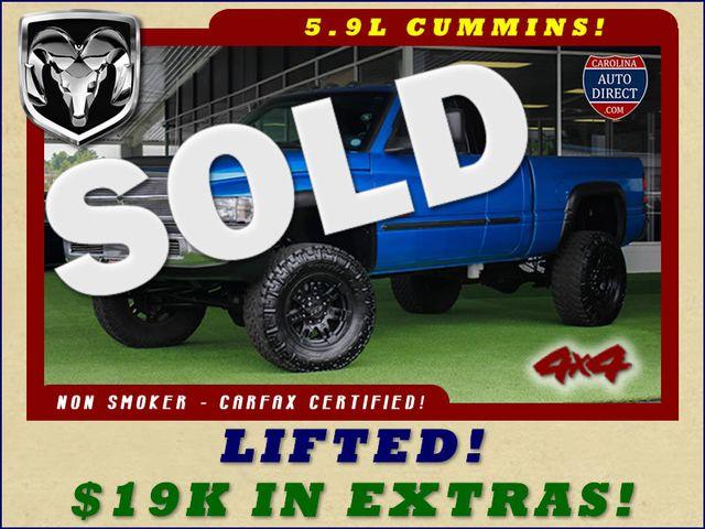 2002 Dodge Ram 2500 Quad Cab 4x4 - LIFTED - 5.9L CUMMINS DIESEL! Mooresville , NC 0