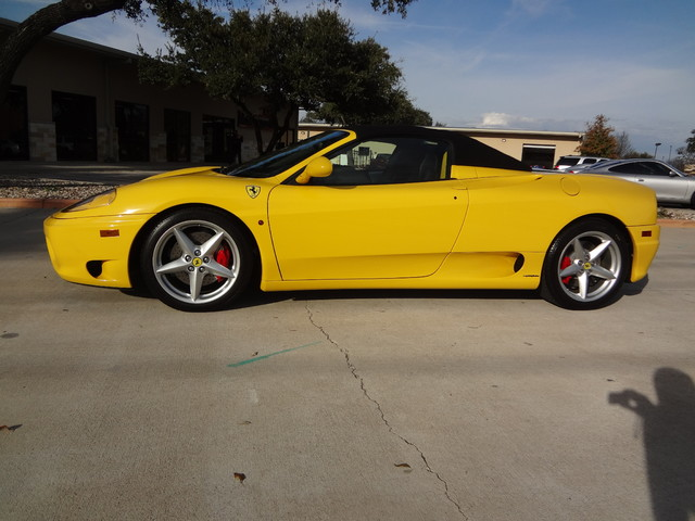 2002 Ferrari 360 Spider Austin , Texas 3