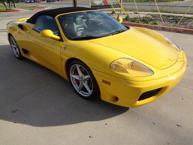2002 Ferrari 360 Spider Austin , Texas 12