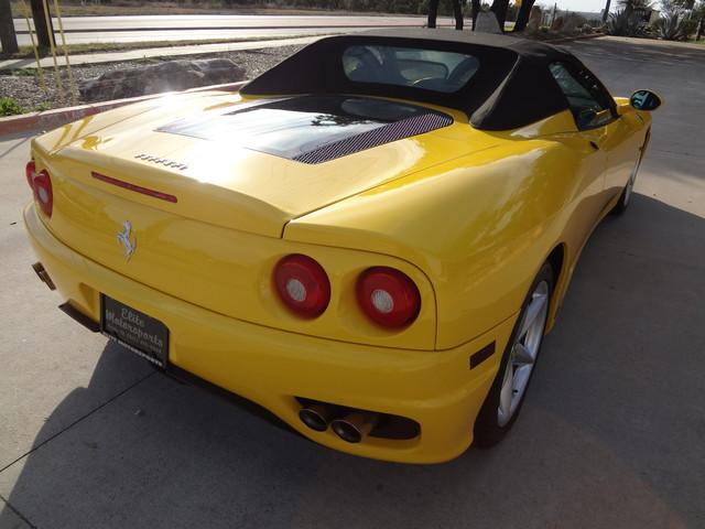 2002 Ferrari 360 Spider Austin , Texas 8