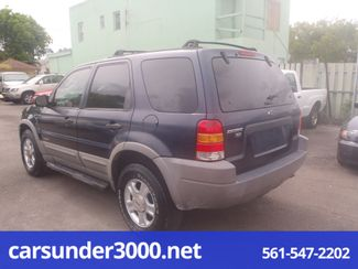 2002 Ford Escape XLT Choice Lake Worth , Florida 3