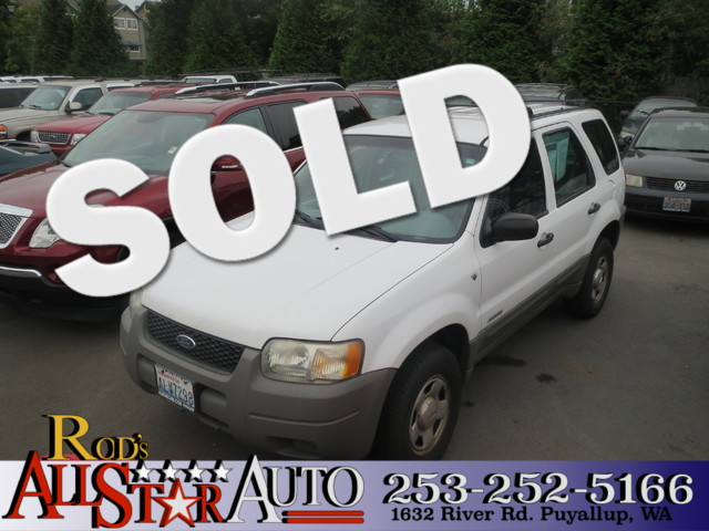 2002 Ford Escape XLS Choice The CARFAX Buy Back Guarantee that comes with this vehicle means that