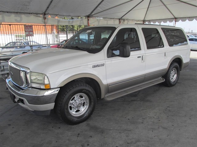 2002 Ford Excursion Limited This particular Vehicle comes with 3rd Row Seat Please call or e-mail