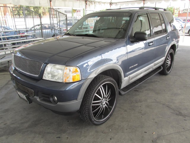 2002 Ford Explorer XLT This particular Vehicles true mileage is unknown TMU Please call or e-m