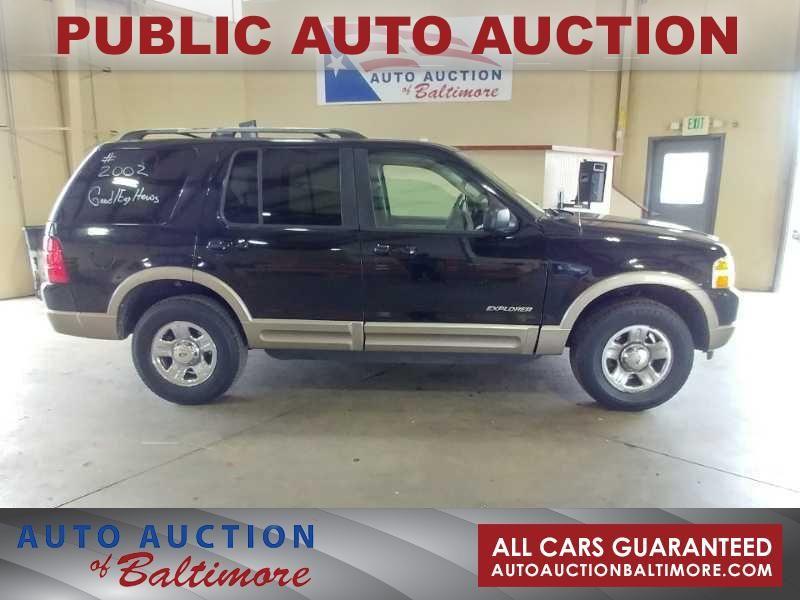 2002 Ford Explorer Eddie Bauer   JOPPA, MD   Auto Auction of Baltimore  in JOPPA MD