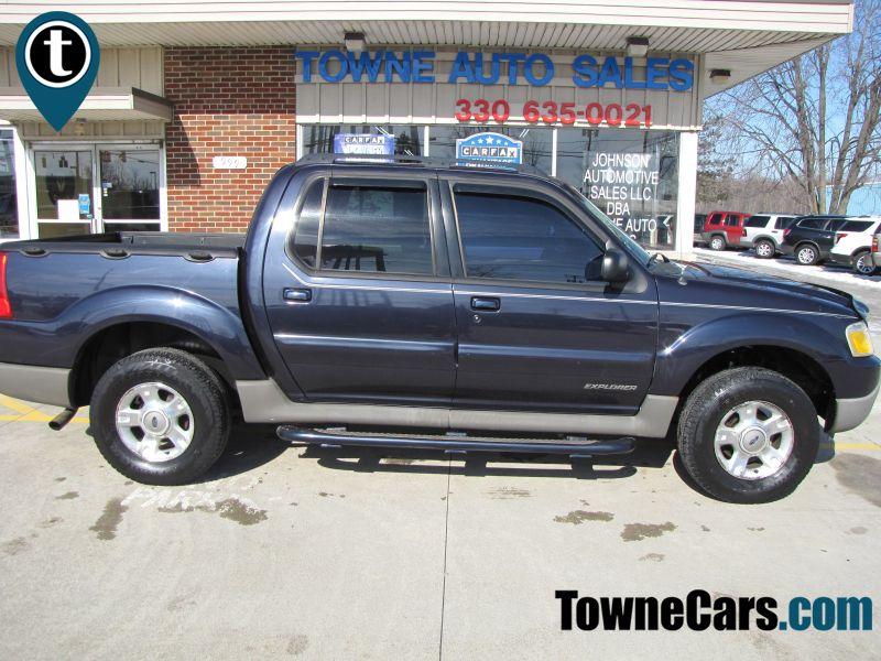 2002 Ford Explorer Sport Trac Value | Medina, OH | Towne Auto Sales in Medina OH