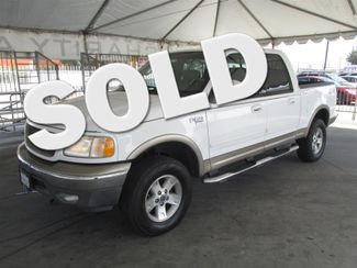 2002 Ford F-150 Lariat Gardena, California
