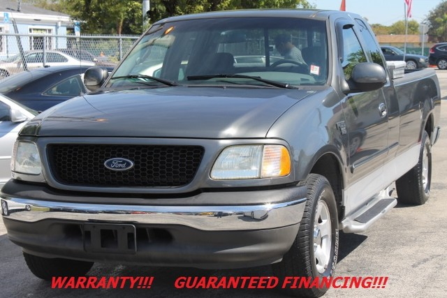 2002 Ford F-150 XLT  WARRANTY CARFAX CERTIFIED AUTOCHECK CERTIFIED FLORIDA TRUCK  Whethe
