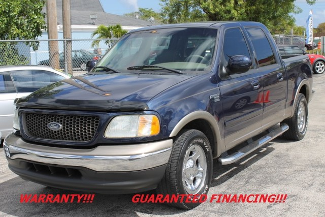 2002 Ford F-150 Lariat  WARRANTY CARFAX CERTIFIED AUTOCHECK CERTIFIED 1 OWNER FLORIDA VEHIC