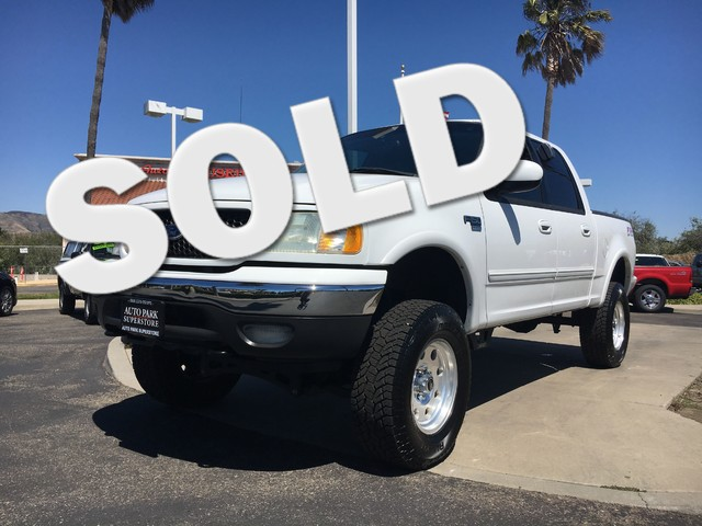 2002 Ford F-150 XLT Get the horse power and the tow capacity you need with powerful V8 engineGo a