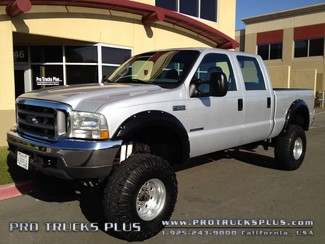 2002 Ford F250 Diesel 4x4 Powerstroke 7.3  XLT Crew Cab  in Livermore California