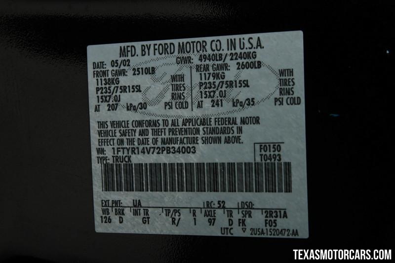 2002 Ford Ranger Edge  in Addison, Texas