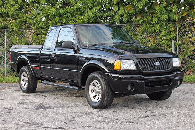 2002 Ford Ranger Edge  WARRANTY CARFAX CERTIFIED 11 SERVICE RECORDS FLORIDA VEHICLE TRADES