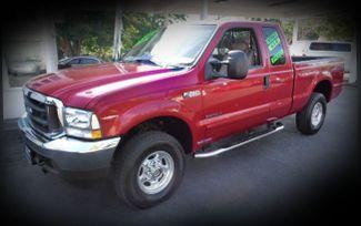 2002 Ford Super Duty F250 Lariat Diesel 4x4 Truck Chico, CA 3