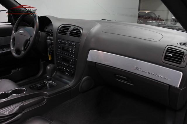 2002 Ford Thunderbird w/Hardtop Premium Merrillville, Indiana 14