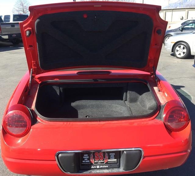 2002 Ford Thunderbird Premium Ogden, Utah 2