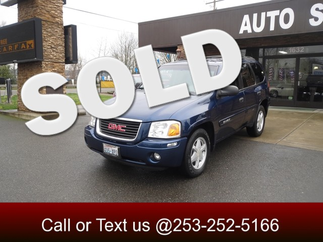 2002 GMC Envoy SLE 4WD The CARFAX Buy Back Guarantee that comes with this vehicle means that you c