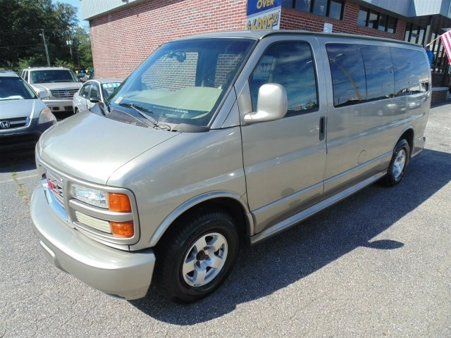2002 gmc savana passenger slt richmond virginia grey 2002 gmc savana car for sale in. Black Bedroom Furniture Sets. Home Design Ideas