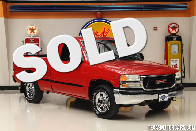 2002 GMC Sierra 1500 SL This Clean Carfax 2002 GMC Sierra is in great shape with only 137 893 mile
