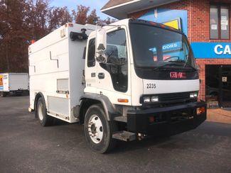 2002 GMC T7500 BOX TRUCK 12' UTILITY BODY ALLISON TRANS 250HP CAT 7.2 MOTOR Richmond, Virginia 21