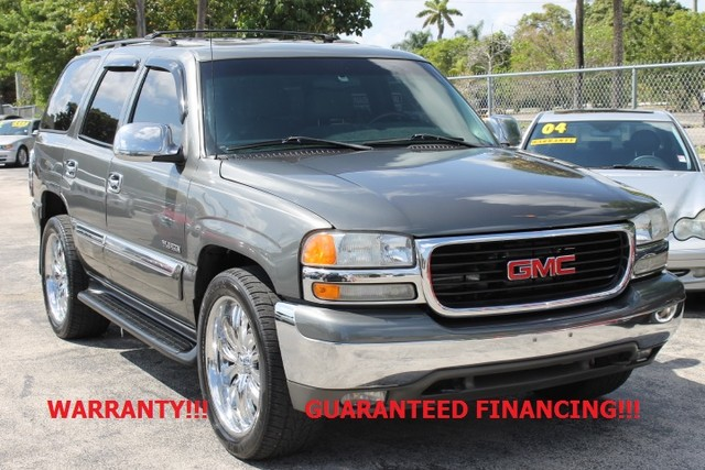 2002 GMC Yukon SLT  CARFAX CERTIFIED AUTOCHECK CERTIFIED FLORIDA VEHICLE  If you are look