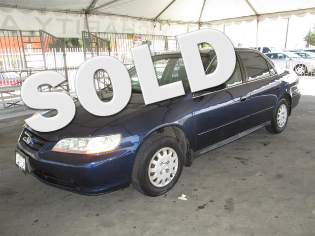 2002 Honda Accord VP Please call or e-mail to check availability All of our vehicles are availa