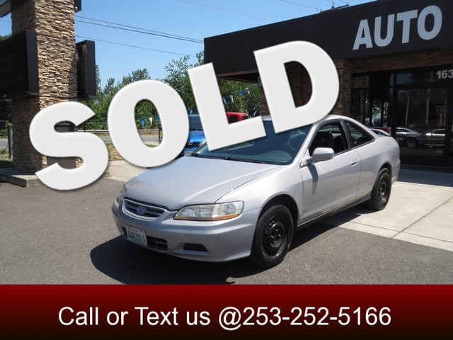 2002 Honda Accord LX The CARFAX Buy Back Guarantee that comes with this vehicle means that you can