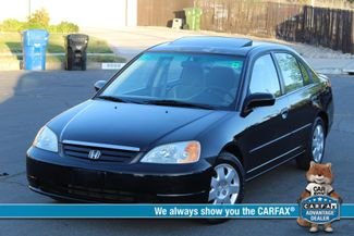 2002 Honda CIVIC EX SEDAN 1-OWNER AUTO POWER WINDOWS NEW TIRES SERVICE RECORDS Woodland Hills, CA