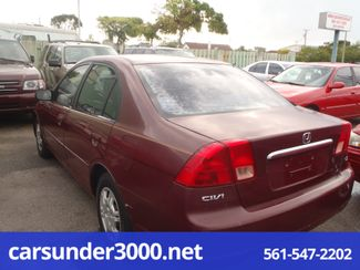 2002 Honda Civic LX Lake Worth , Florida 3