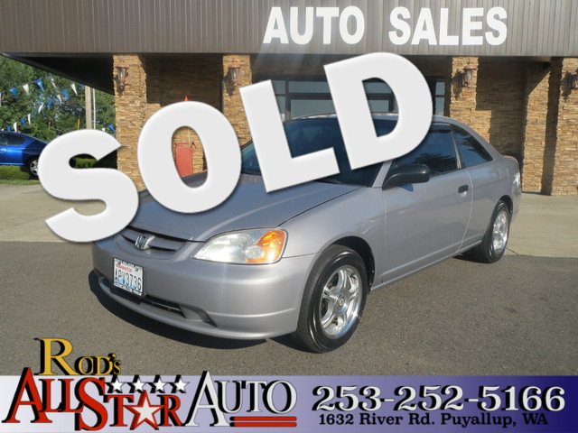 2002 Honda Civic DX The CARFAX Buy Back Guarantee that comes with this vehicle means that you can