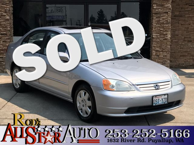 2002 Honda Civic EX The CARFAX Buy Back Guarantee that comes with this vehicle means that you can