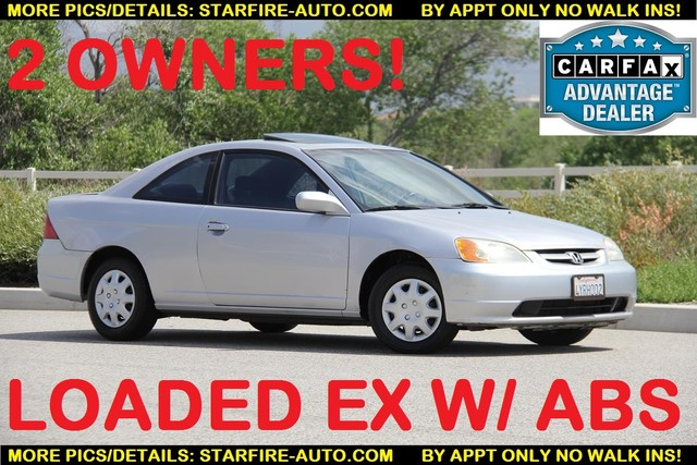 2002 Honda Civic EX Santa Clarita, CA 0