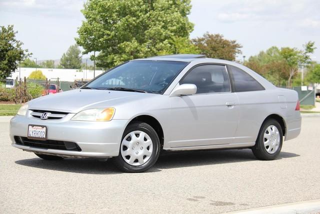 2002 Honda Civic EX Santa Clarita, CA 1