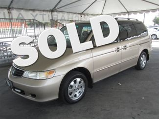 2002 Honda Odyssey EX-L w/DVD/Leather Gardena, California