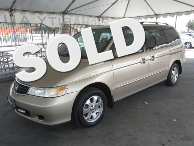 2002 Honda Odyssey EX-L wDVDLeather This particular Vehicle comes with 3rd Row Seat Please call