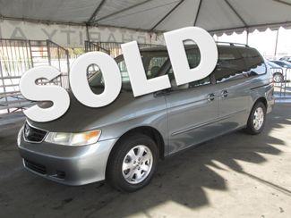 2002 Honda Odyssey EX-L w/Navigation/Leather Gardena, California