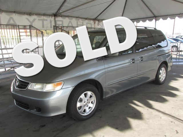 2002 Honda Odyssey EX-L wNavigationLeather This particular Vehicle comes with 3rd Row Seat Plea