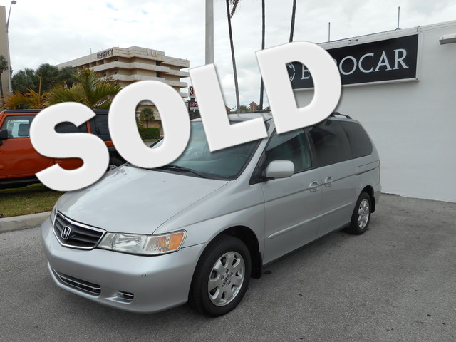 2002 Honda Odyssey EX-L wDVDLeather NEW TIRES and DVD  ENTERTAINMENT SYSTEM So few miles m