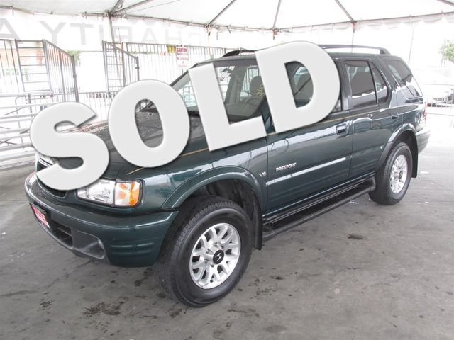 2002 Honda Passport LX Please call or e-mail to check availability All of our vehicles are avai