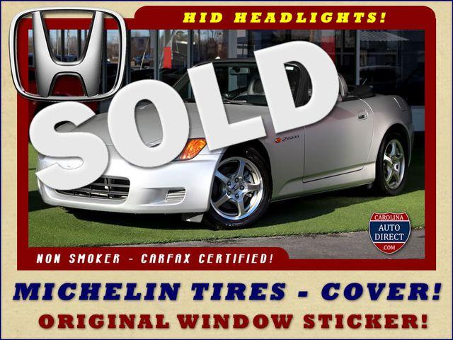 2002 Honda S2000 MICHELIN TIRES - COVER - WINDOW STICKER! Mooresville , NC 0
