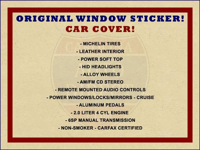 2002 Honda S2000 MICHELIN TIRES - COVER - WINDOW STICKER! Mooresville , NC 1