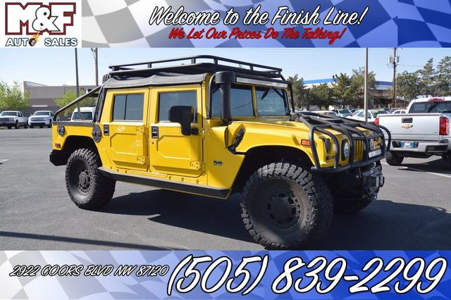 2002 Hummer H1 Open Top | Albuquerque, New Mexico | M & F Auto Sales Coors