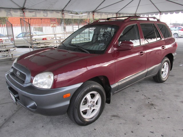 2002 Hyundai Santa Fe GLS Please call or e-mail to check availability All of our vehicles are av