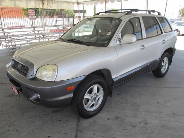 2002 Hyundai Santa Fe GLS Please call or e-mail to check availability All of our vehicles are a