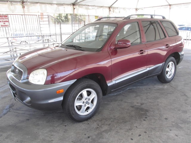 2002 Hyundai Santa Fe GL Please call or e-mail to check availability All of our vehicles are av