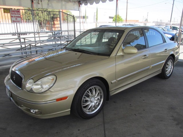 2002 Hyundai Sonata GLS Please call or e-mail to check availability All of our vehicles are ava