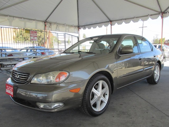 2002 Infiniti I35 Luxury Please call or e-mail to check availability All of our vehicles are ava