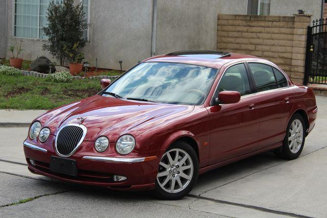 2002 Jaguar S-TYPE SEDAN ONLY 59K  ORIGINAL MLS LEATHER SUNROOF SERVICE RECORDS! Woodland Hills, CA 1