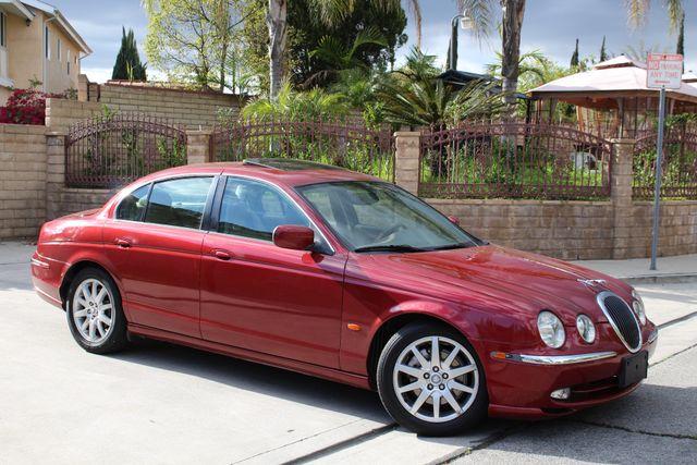 2002 Jaguar S-TYPE SEDAN ONLY 59K  ORIGINAL MLS LEATHER SUNROOF SERVICE RECORDS! Woodland Hills, CA 9