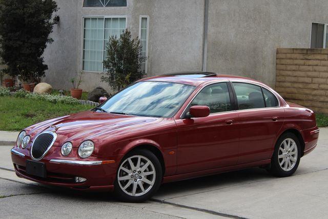 2002 Jaguar S-TYPE SEDAN ONLY 59K  ORIGINAL MLS LEATHER SUNROOF SERVICE RECORDS! Woodland Hills, CA 2